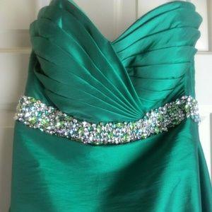 Tiffany Designs Formal Trumpet Gown